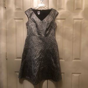 Anne Klein Woven Flared Dress